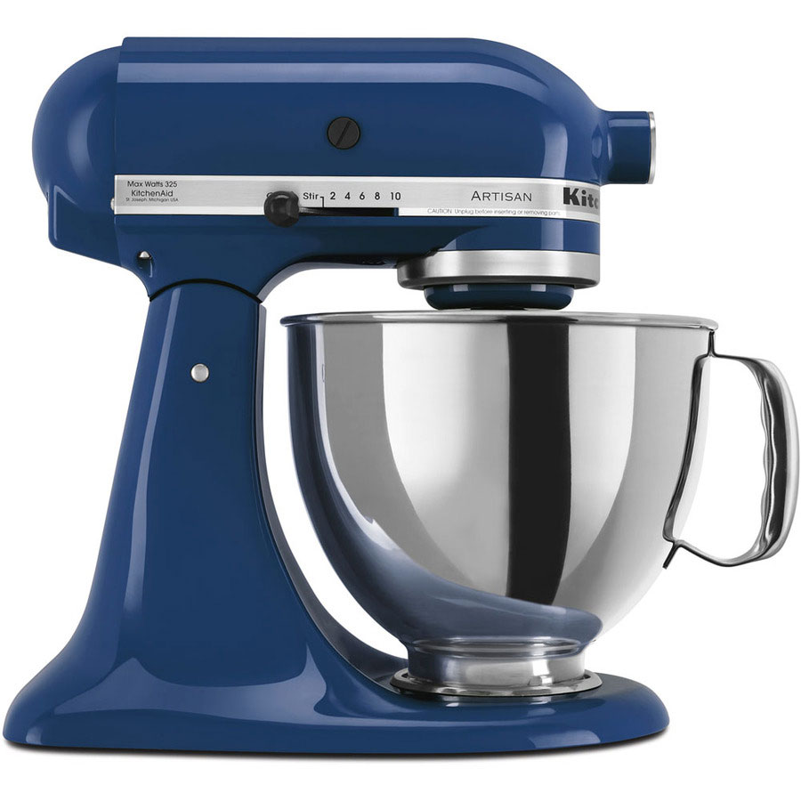 220 volt kitchenaid artisan stand mixer blue willow. Black Bedroom Furniture Sets. Home Design Ideas
