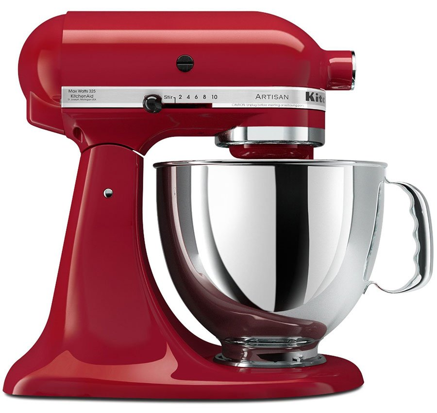 220 volt kitchenaid 5ksm150pseer artisan stand mixer. Black Bedroom Furniture Sets. Home Design Ideas