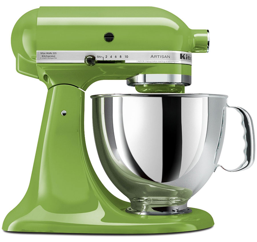 220 volt kitchenaid 5ksm150psega artisan stand mixer green apple. Black Bedroom Furniture Sets. Home Design Ideas