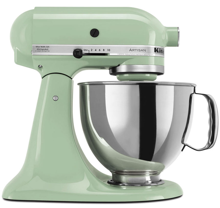 220 volt kitchenaid 5ksm150pspt artisan stand mixer pistachio. Black Bedroom Furniture Sets. Home Design Ideas