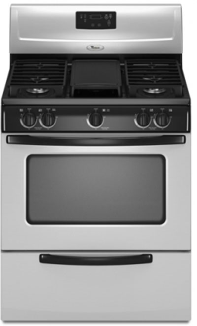 Stainless Steel Stove : ... 3WFG231LVS 30 inch Stainless Steel 220 Volt Gas Stove 230 240 V