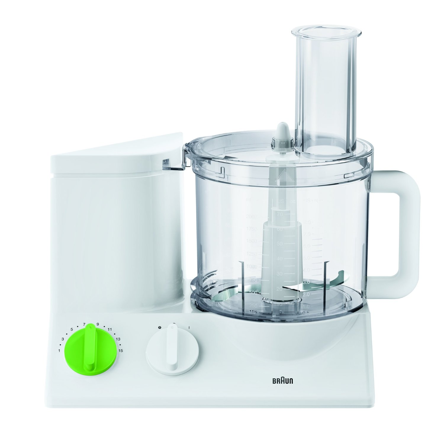 Braun FP3010 Tribute Collection Food Processor, 220 volt 50 Hertz
