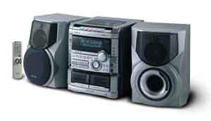 aiwa nsx 777 hi fi stereo music system dual volt rh 220 electronics com Aiwa Nsx- A202 Aiwa Nsx D707