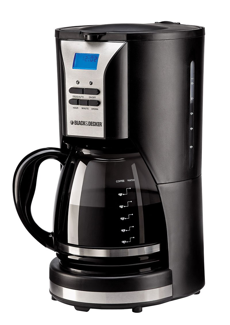 Black And Decker Coffee Maker 12 Cup Programmable -