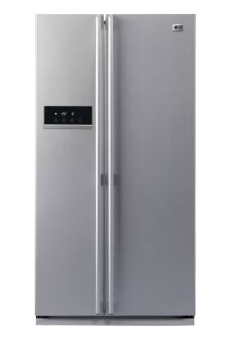 lg gr b208blq 220 240 volt side by side refrigerator. Black Bedroom Furniture Sets. Home Design Ideas