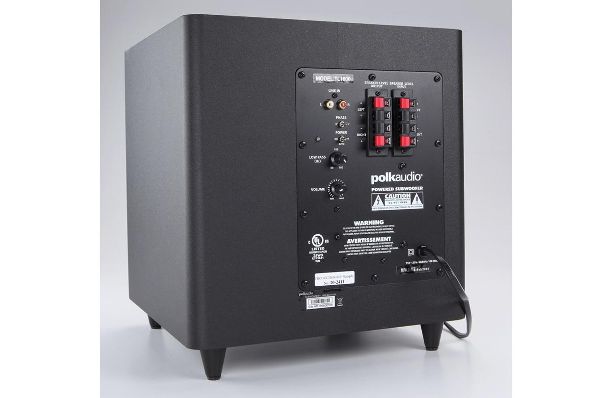 Polk Audio Blackstone Tl Home Theater System