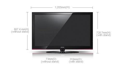 samsung ps42a450 42 multi system plasma 3d tv 110 220 240 volts pal ntsc. Black Bedroom Furniture Sets. Home Design Ideas