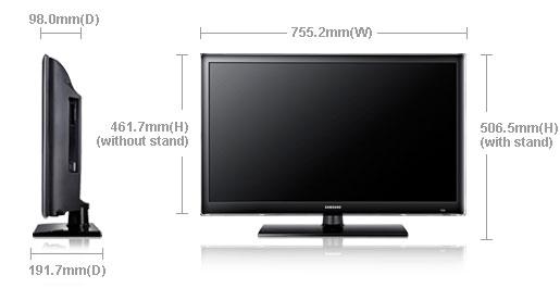 samsung ua32eh4500 32 multi system led smart tv 110 220 240 volts pal ntsc. Black Bedroom Furniture Sets. Home Design Ideas