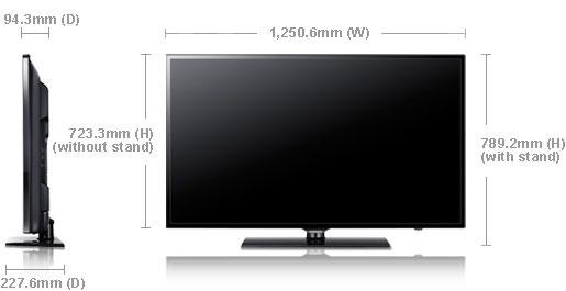 samsung ua55eh6000 55 multi system led tv 110 220 240 volts pal ntsc. Black Bedroom Furniture Sets. Home Design Ideas