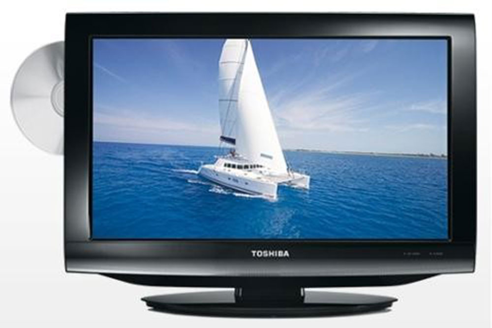 toshiba 26dv703 region free lcd tv dvd combo. Black Bedroom Furniture Sets. Home Design Ideas