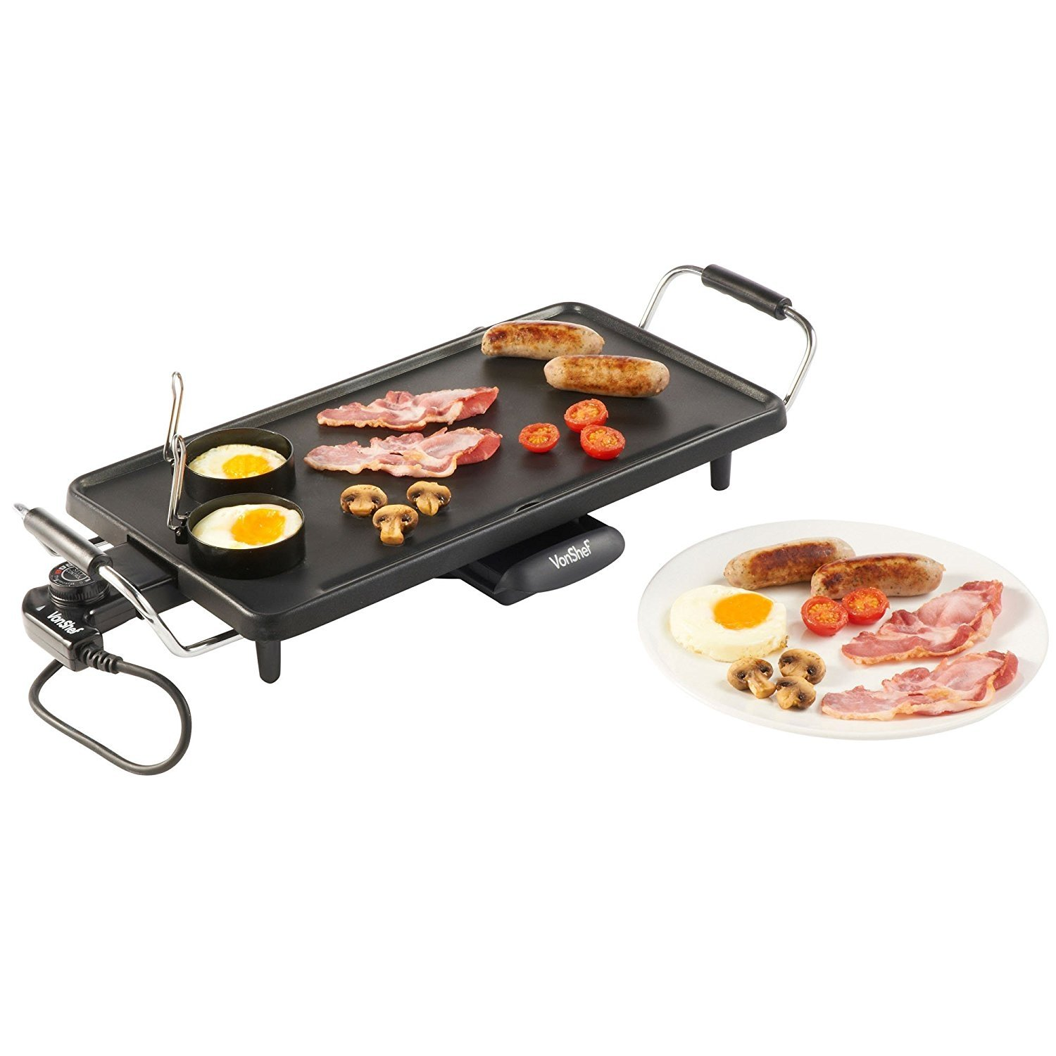 Large Electric Grill ~ Vonshef large electric teppanyaki style