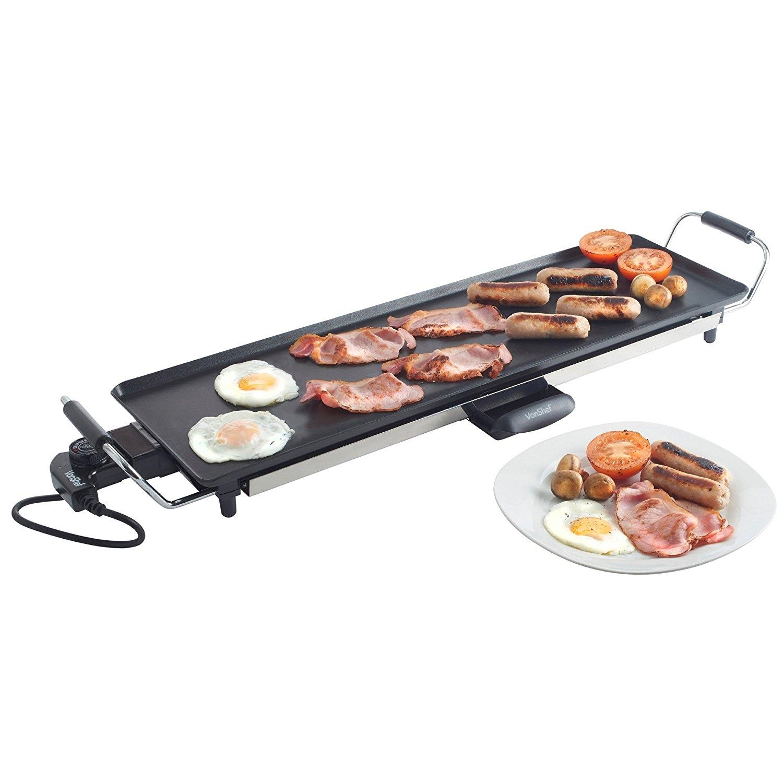vonshef 13063 x large electric teppanyaki style grill for 220 volts. Black Bedroom Furniture Sets. Home Design Ideas
