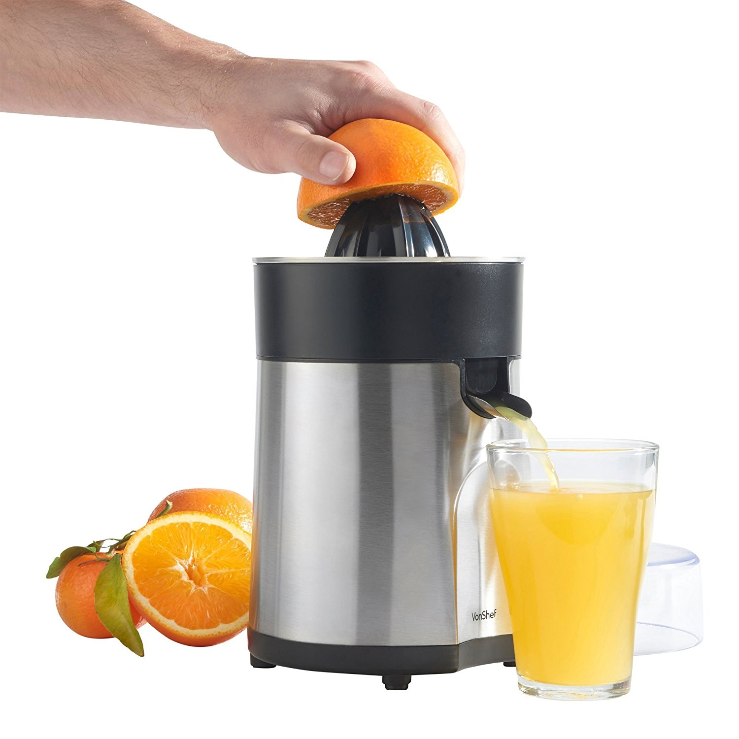 Electric Lemon Squeezer ~ Vonshef premium w electric citrus juicer for volts