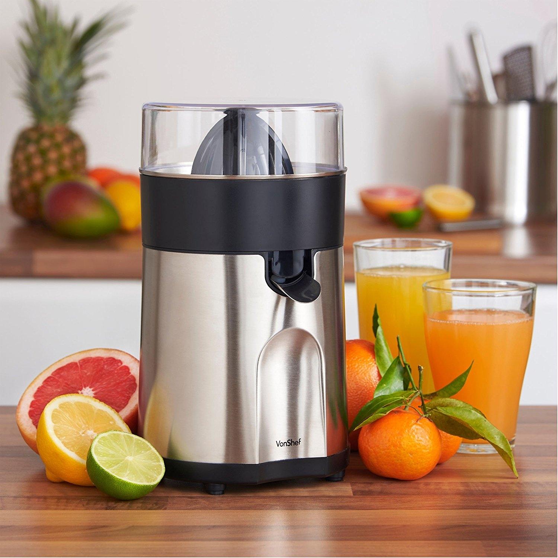 Electric Citrus Juicer ~ Vonshef premium w electric citrus juicer for volts