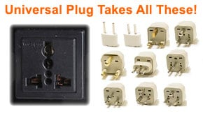 Universal Output Plug Works In ANY Country!
