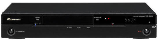 pioneer dvr 560h hard drive dvd recorder with hard drive dvr560 dvr rh 220 electronics com JVC DVD Recorder VCR Combo pioneer vhs dvd recorder manual