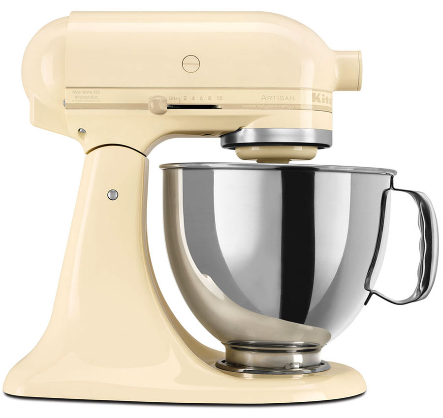 220 volt kitchenaid 5ksm150pseac artisan stand mixer almond cream