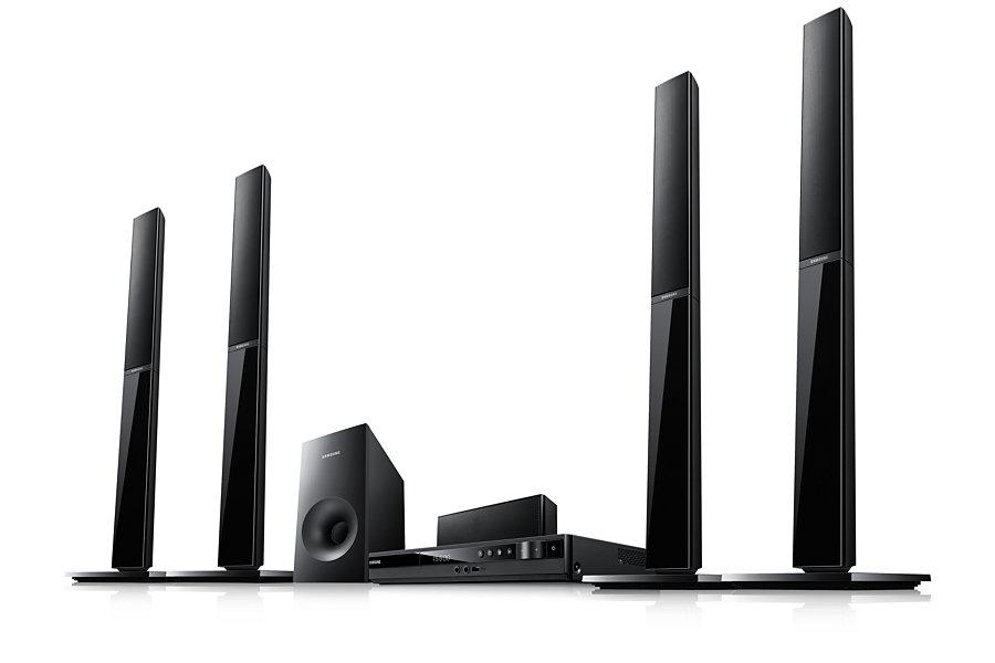 Samsung Ht E355k 5 1ch Karaoke Dvd Multi System Home Entertainment