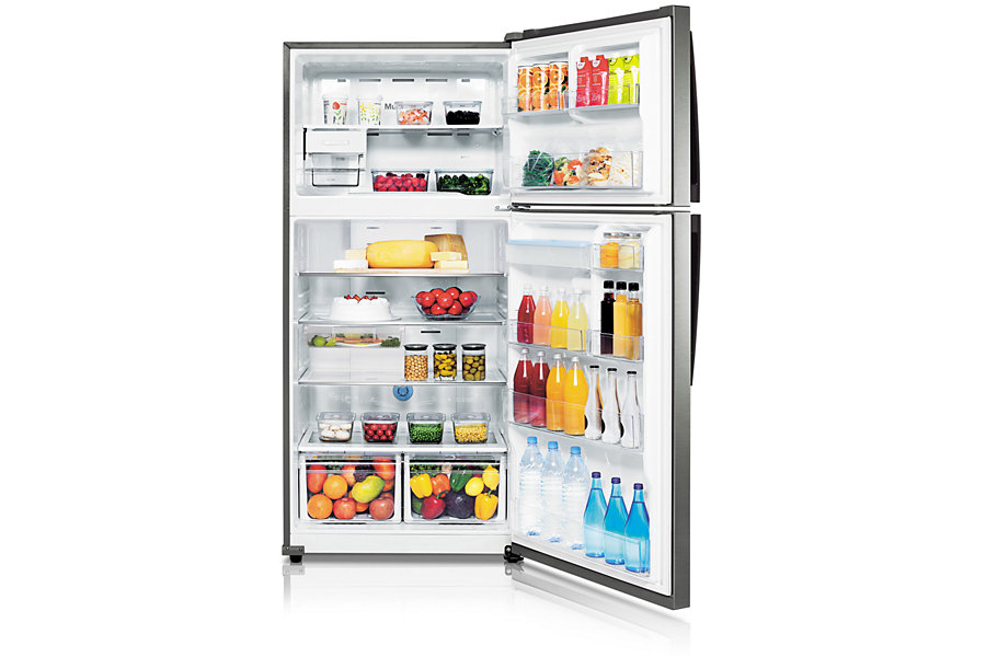 Samsung Stainless Steel Top Mount 28 Cu Ft Refrigerator