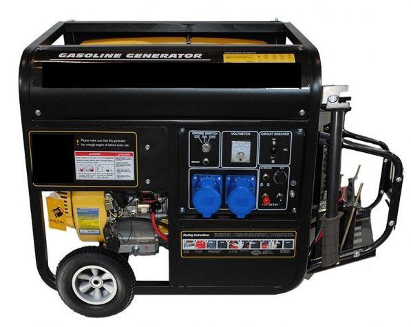 International 220 Volts 50 Hz Gas Generator 220v 50hz 240 Volt 50 Hertz Gas Gen 9000 Watts