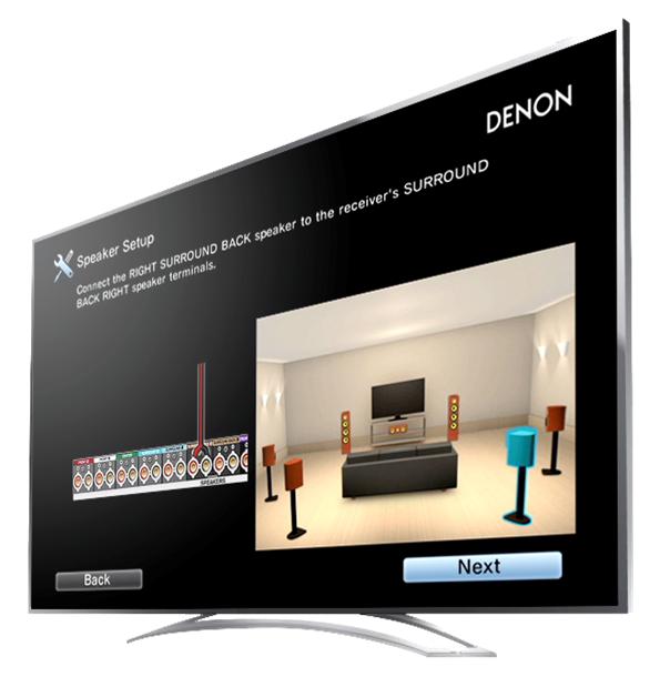 Denon AVR-X1300W 7 2 Channel 220 Volt Audio/Video Receiver with Wi-Fi