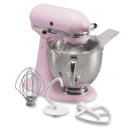 220 Volt KitchenAid 5KSM150PSEPK Artisan Stand Mixer - Pink