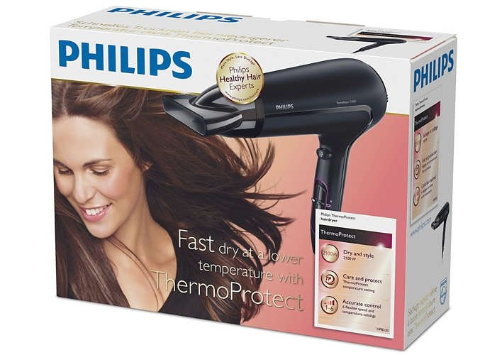 K HP8230 ThermoProtect Hair Dryer