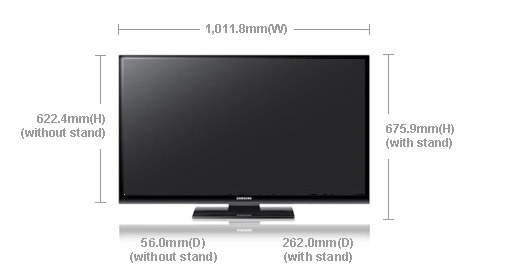 Samsung Ps 43e450 43 Quot Multi System Plasma Tv 110 220 240