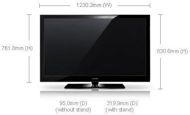 samsung ps50a550 50 full hd plasma tv 110 220 240 volts pal ntsc. Black Bedroom Furniture Sets. Home Design Ideas