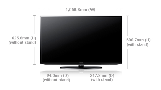 Samsung Ua46eh5306 46 Quot Multi System Smart Internet Led Tv