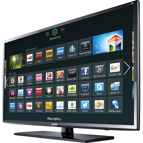 Samsung 40 Quot Ua 40fh5303 Full Hd Multisystem Smart Led Tv