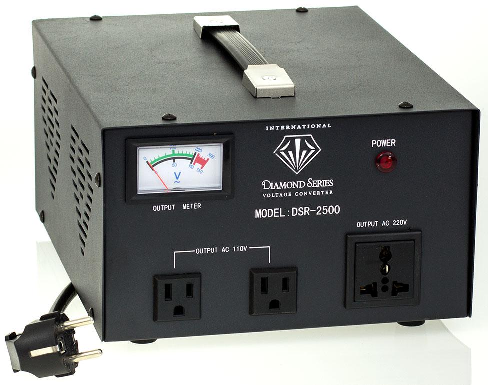 2500 Watt Diamond Series Voltage Transformer With Regulator