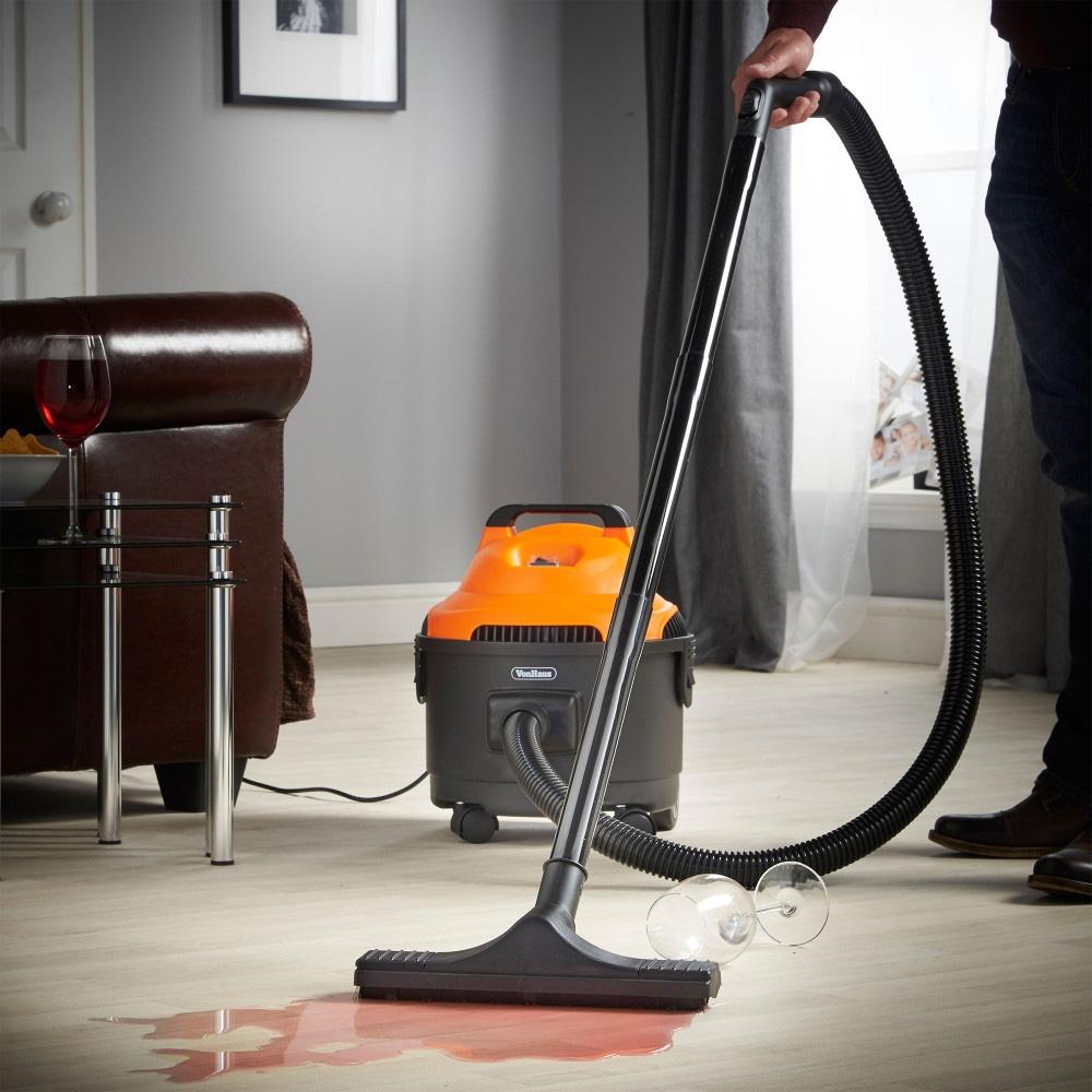 Vonhaus 15 Liter Wet Dry Vacuum Cleaner For 220 Volts