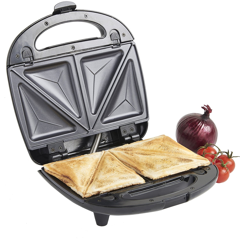 vonshef 13196 three in one sandwich waffle maker grill. Black Bedroom Furniture Sets. Home Design Ideas