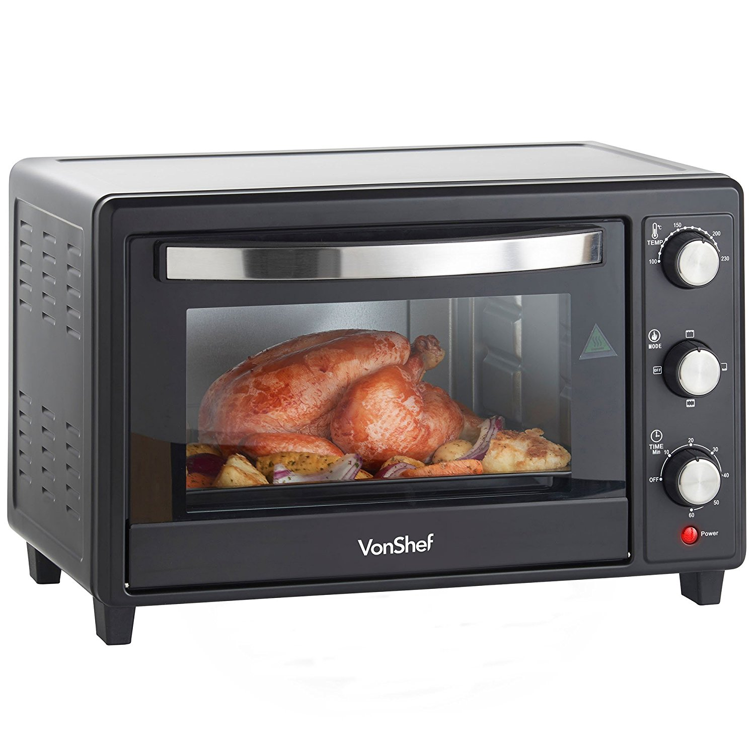 Vonshef 220 volts Toaster oven with convenection grill 220 240