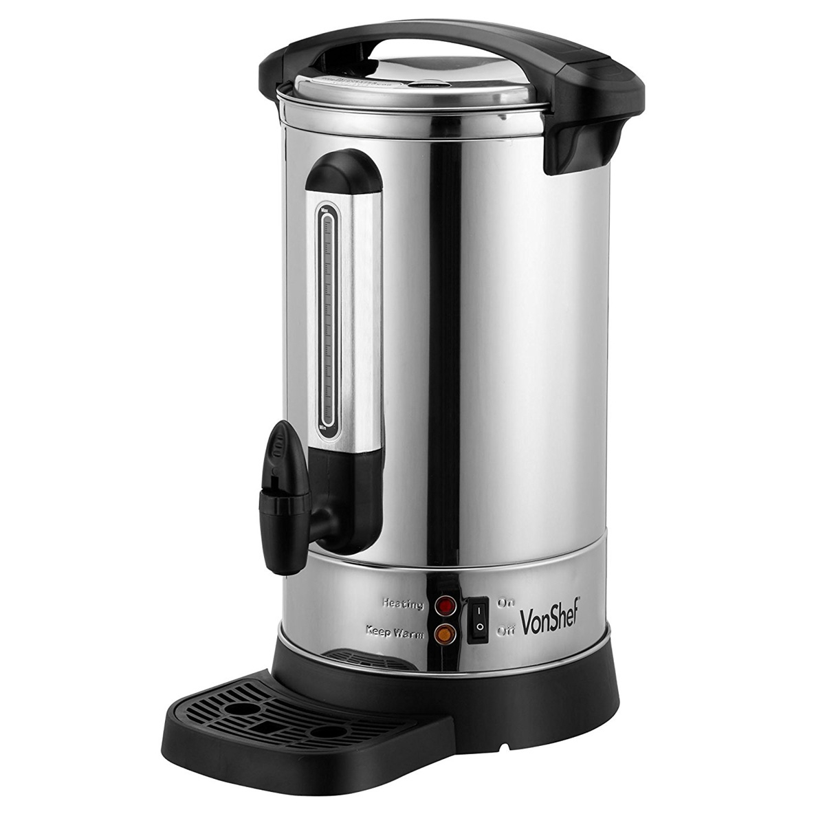 Vonshef 20 Litre Electric Coffee And Tea Urn For 220 240 Volts