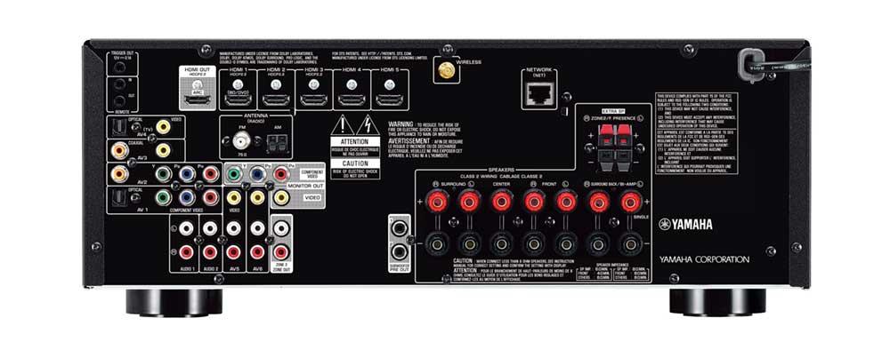 yamaha rx v679 110 240 volts receiver 110 220 240. Black Bedroom Furniture Sets. Home Design Ideas