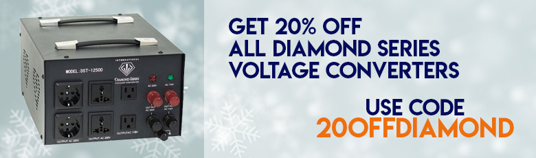 Voltage Converters on Sale!