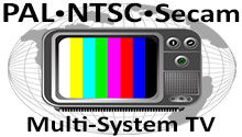 PAL NTSC Secam Multi-System TV
